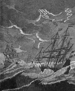 Gravure 3 schepen