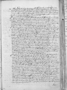 Roggeveen logbook copy 4 020 Naming Easter Island